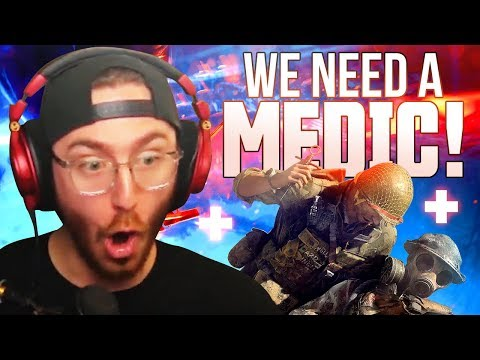 WE'RE IN NEED OF A MEDIC STAT!! - Battlefield V Gameplay thumbnail
