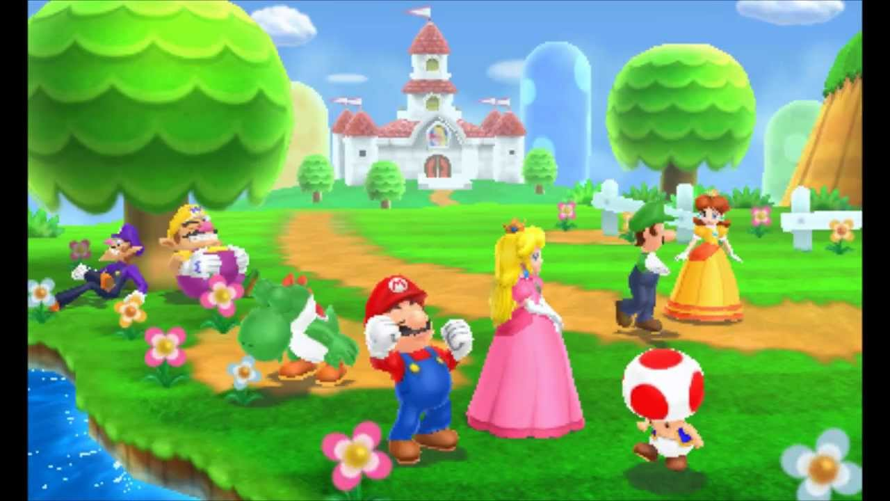 Mario Plush Party Island Tour