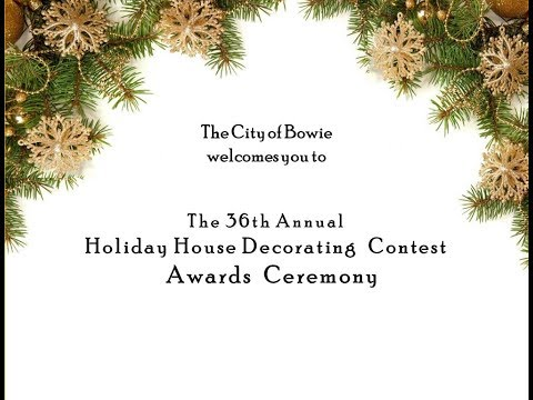 2017 Holiday House Decorating Awards