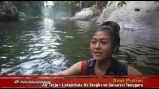 Air terjun Lakambula ,Ds Tangkeno Sulawesi Tenggara
