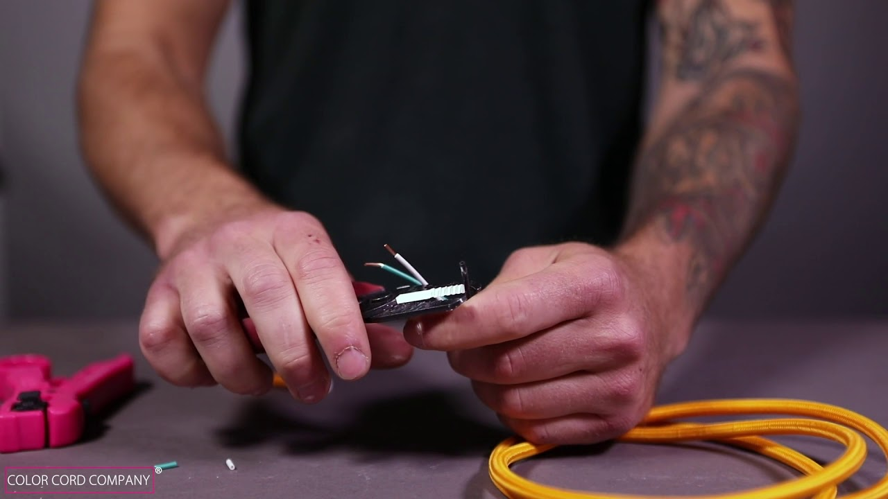 How To Cut And Strip Cloth Covered Wire Youtube Wiring