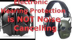 How Electronic Hearing Protection Works: It's Not What You Think