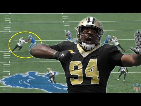 Film Study: THEY'RE A PROBLEM: The many EDGE rushers of the New Orleans Saints