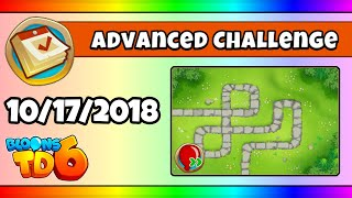 BTD6 Advanced Daily Challenge (SUPER SPEED) - October 17, 2018