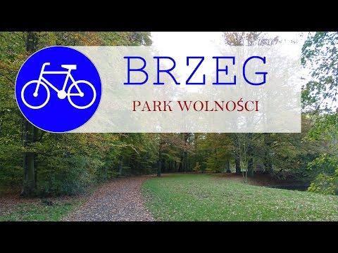 Brzeg park wolnosci - ekstremalna ścieżka rowerowa.