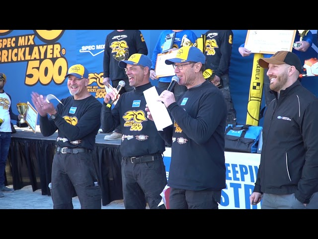 2019 SPEC MIX BRICKLAYER 500 PR Highlights