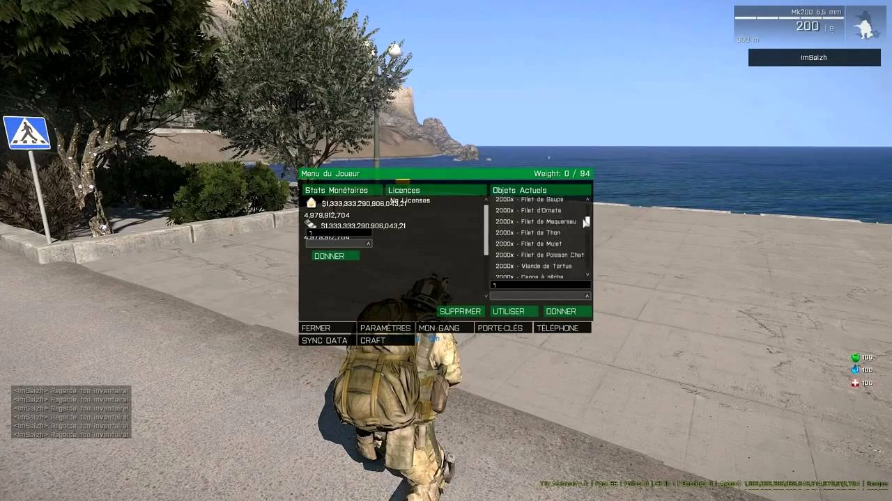 🔥 ARMA 3 ALTIS LIFE ADMIN MONEY HACK