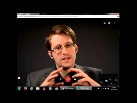 Edward Snowden McGill Nov 2 2016
