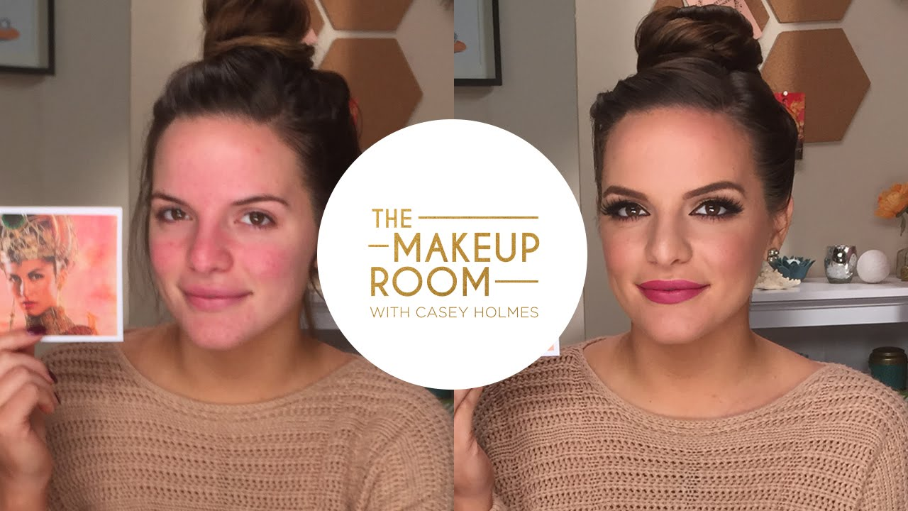 The Makeup Room w/ Casey Holmes - Transform Yourself Into The Goddess  Hathor from Gods Of Egypt