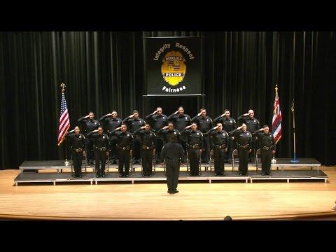 184th Police Recruit Class Graduation