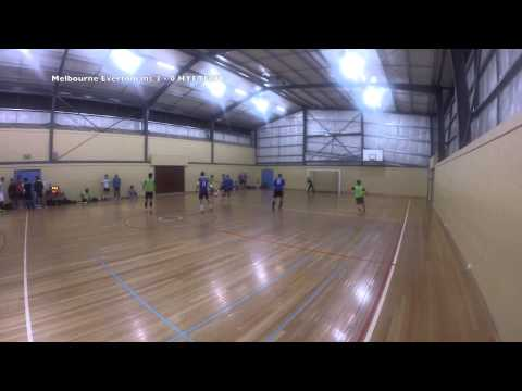Futsal Fever Mulgrave Season 4 Week 9: Melbourne Evertonians vs HYETECH