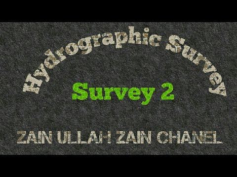 What is hydrographic survey