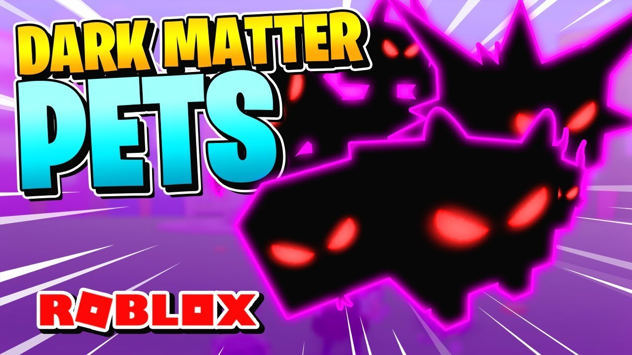 Dark Matter Roblox - Roblox Pet Simulator How To Get Dark Matter Pets Update 11