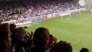 en avant de guingamp le stade de roudourou fete ses héros dimanche soir !