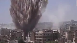 Russia strikes tipping Syria war in Assad's favor?