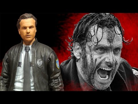 The Walking Dead Constable Rick Grimes Action Figure Review