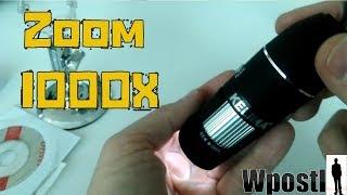 مراجعة : 29 : KELIMA C22 USB Digital Microscope : مجهر إلكتروني صغير يكبر حتى 1000X مرة