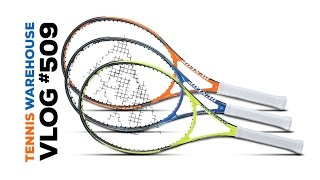 Dunlop Precision Racquets (SNEAK PEEK!) - VLOG #509
