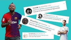 Arturo Vidal Transfer ~ Barcelona ~ Twitter Reactions