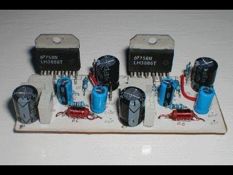 Схема усилителя на транзисторах (Транзистор 36)