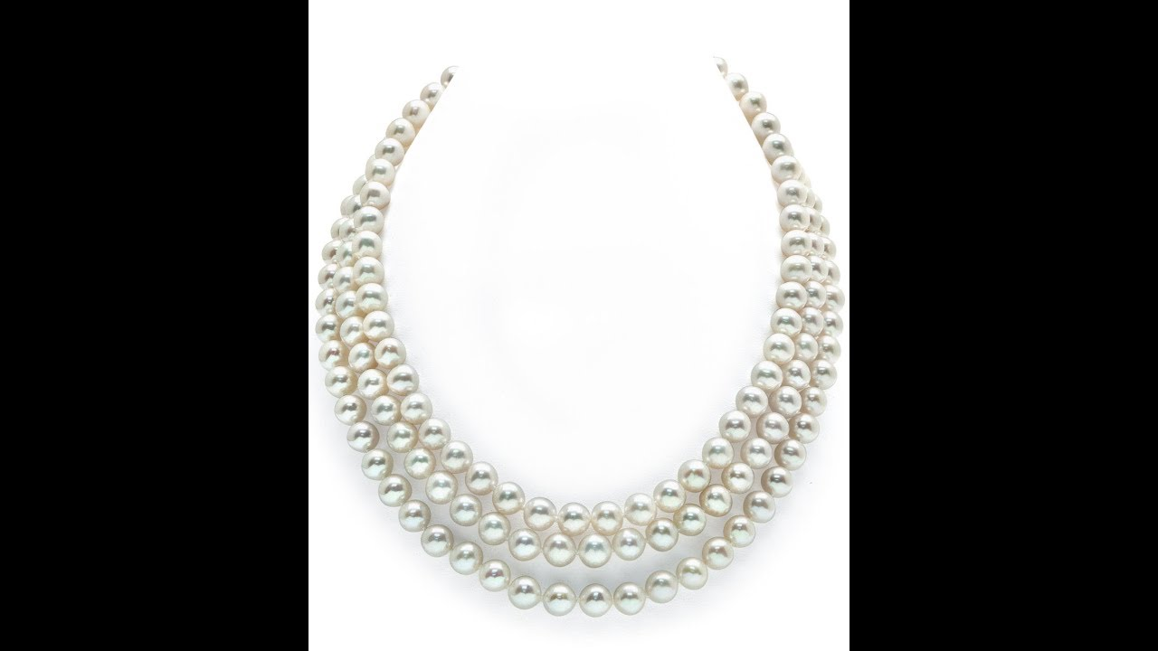 Asian pearl necklace video #5