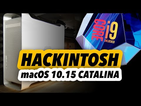 IMac Pro Killer MacOS Catalina Hackintosh Build 2019