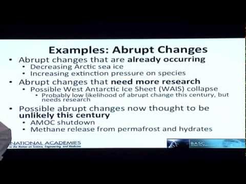 Dr. James White on Methane and Abrupt Change