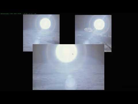 Apollo 12, 14. Instead Of The Sun, A Spotlight. А солнце то не настоящее!
