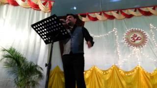 Muskurane ki Wajah... Singing on Karaoke - Parimal 01.11.14