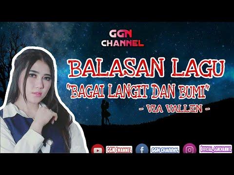 BALASAN LAGU BAGAI LANGIT DAN BUMI | (Official Lirik Video)