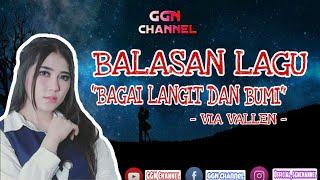 Gambar cover BALASAN LAGU BAGAI LANGIT DAN BUMI | (Official Lirik Video)