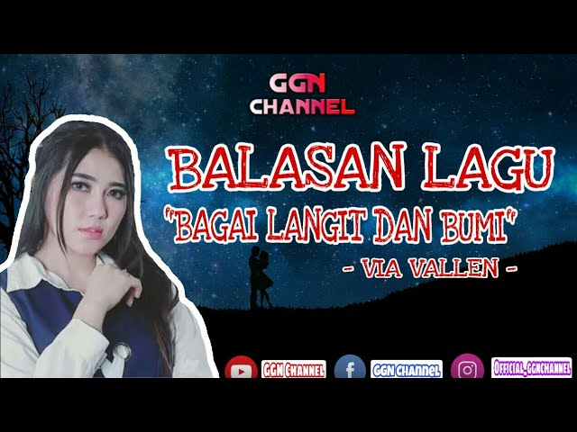 BALASAN LAGU BAGAI LANGIT DAN BUMI | (Official Lirik Video) #1