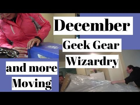 December Geek Gear & More Moving