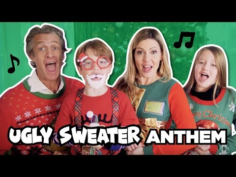Ugly Sweater Anthem // Mom vs Dad Holiday Wardrobe // The Holderness Family