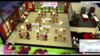 Cooking with Vechs (How Sims 4 Retail Stores are Better Than Restaurants at Selling Food)