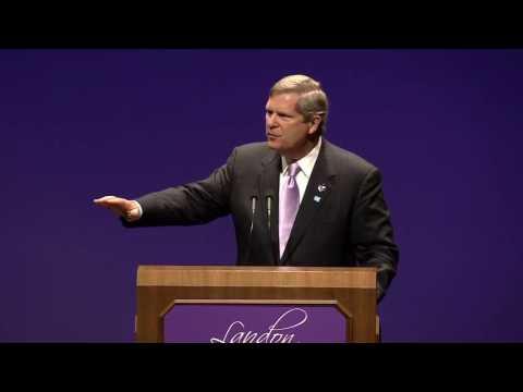 Landon Lecture | Tom Vilsack