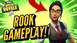Fortnite Battle Royal (XboxOne) Solo Win W/ Rook Skin