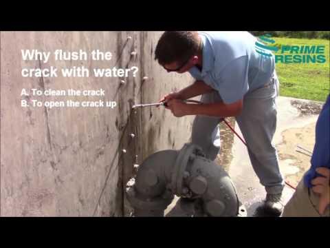 Prime Flex 900 XLV: Seal leaks in concrete structures