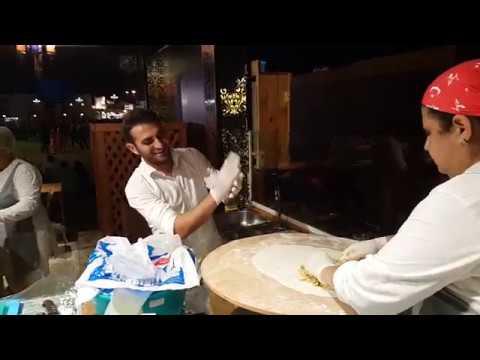Turkish bakery preparation at Global Village Dubai 17.11.2016