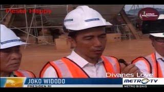 Presiden Jokowi Kunjungi Industri Galangan Kapal Di Batam