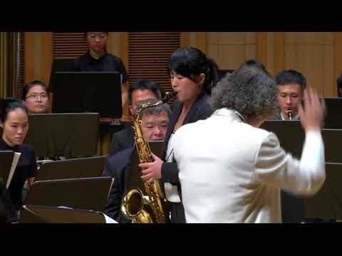 William Schmidt concerto for Tenor Saxophone & Symphonic Band