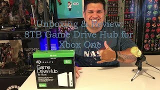 8 TB Game Drive Hub Unboxing & Review