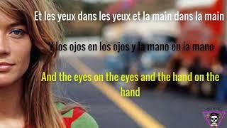 Tous Le garcons et les filles - Francoise Hardy (Lyrics) (Paroles) (Letra en Español)