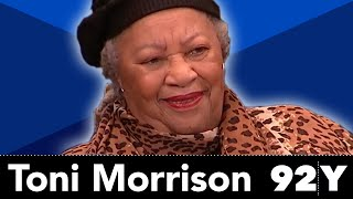 Toni Morrison Reads From and Discusses