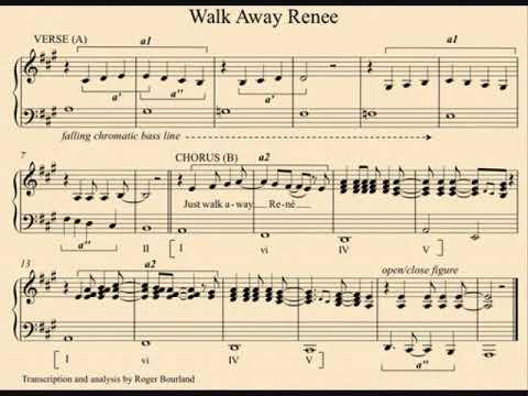 "THE LEFT BANKE- ""WALK AWAY RENEE"" (LYRICS)"