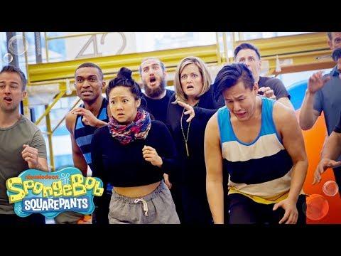 Get to Know the SpongeBob Cast! | The SpongeBob Musical | Nick