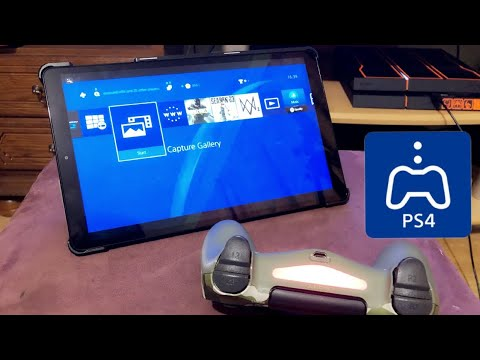 PS4 HOW TO REMOTE PLAY TABLET AND PHONE! Android New