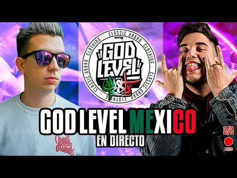 !!!!!VIENDO GOD LEVEL MEX EN DIRECTO CON FJ!!!!!!