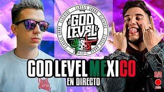 !!!!!VIENDO GOD LEVEL MEX EN DIRECTO CON FJ!!!!!!