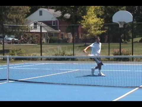 Josh Saunders College Tennis Video
